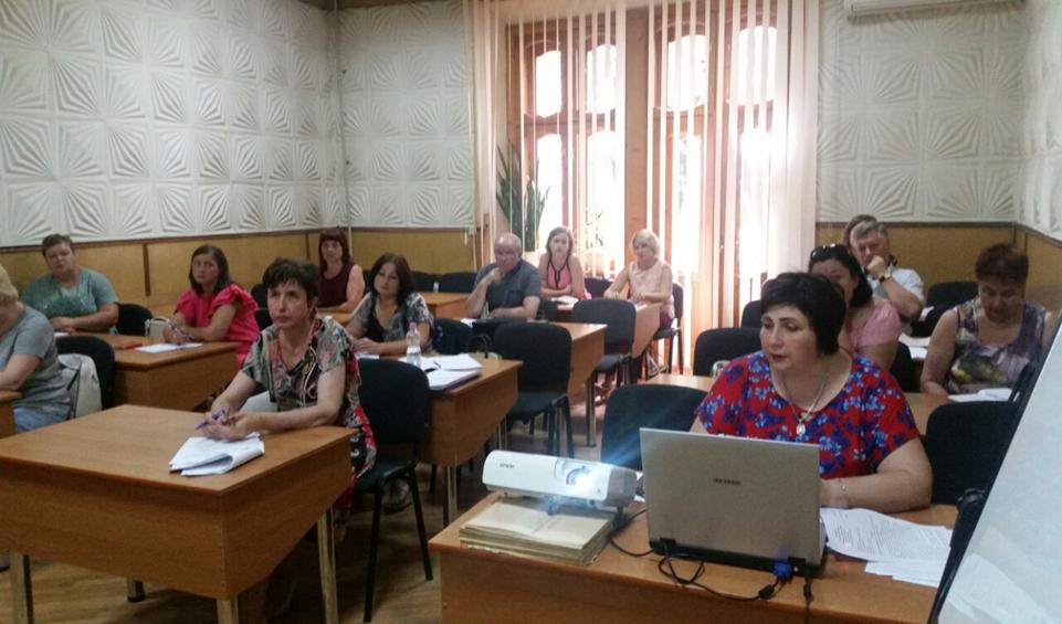 Проведено семінарське заняття за участю спеціалістів з розділу епідеміології територіальних філій.